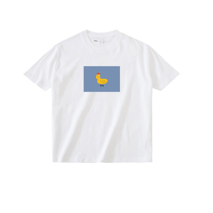 PROD Bldg T Shirt XS / White Chick