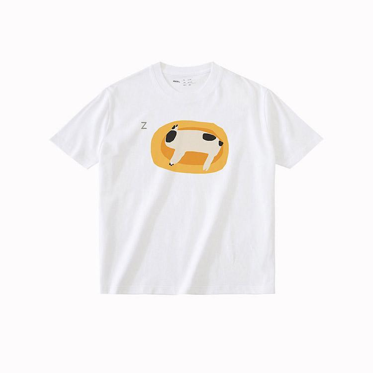 PROD Bldg T Shirt XS / White Lazy Dog
