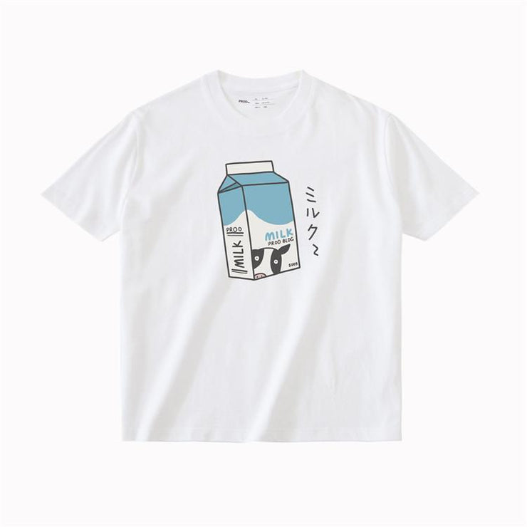 PROD Bldg T Shirt XS / White Milk Box