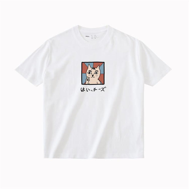 PROD Bldg T Shirt XS / White Say Cheese