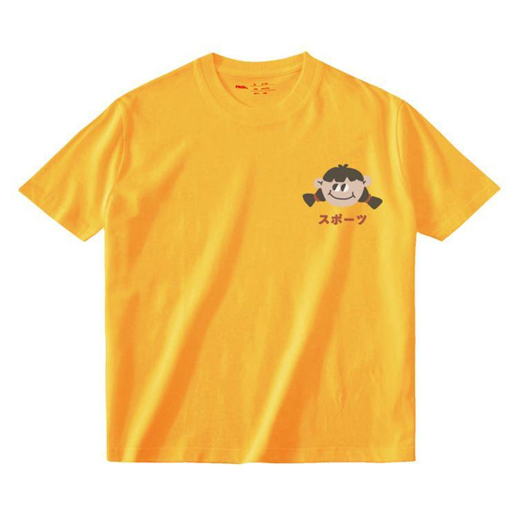 PROD Bldg T Shirt XS / Yellow Big Eyed Girl