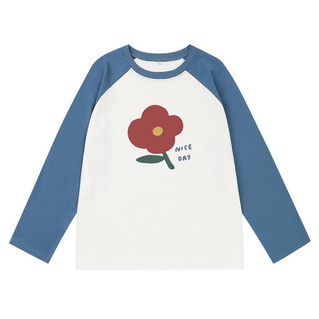 PROD Bldg Varsity Long Sleeve Nice Day - Flower Varsity Long Sleeve
