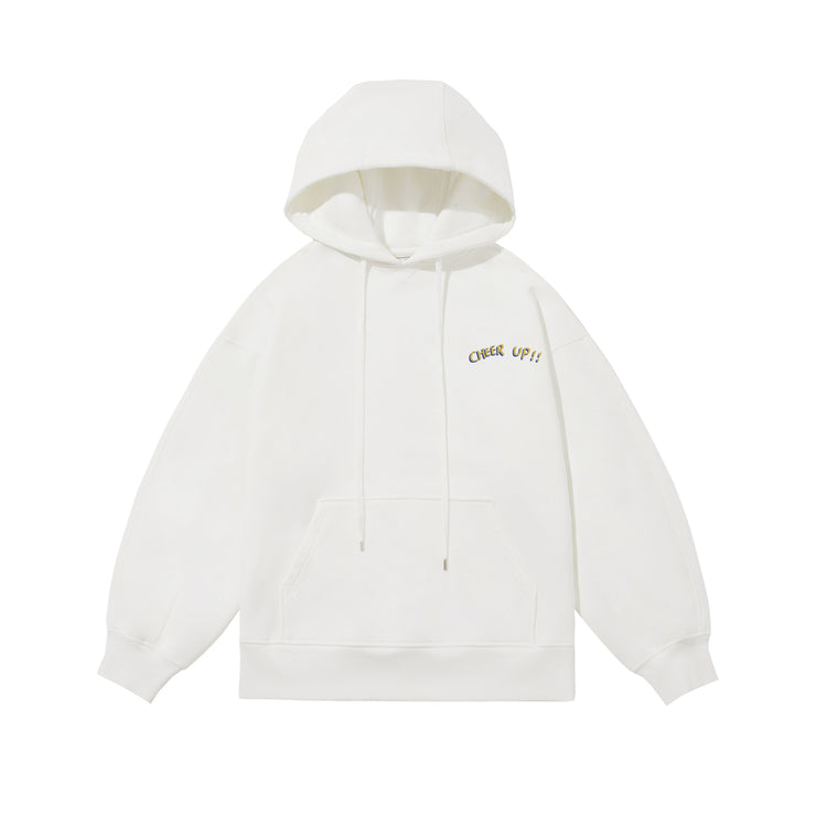 Cheer Up Drawstring Hoodie