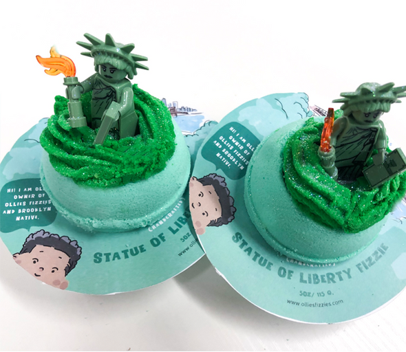 Limited Edition Statue of Liberty BBRT Bubble Fizzie