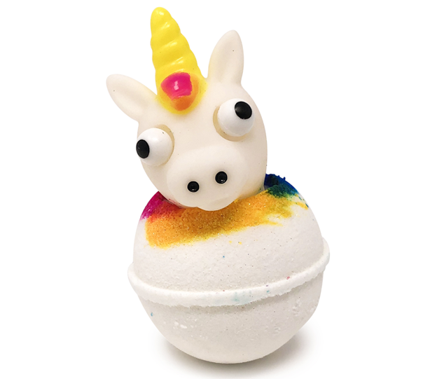Unicorn Head Bath Bombs