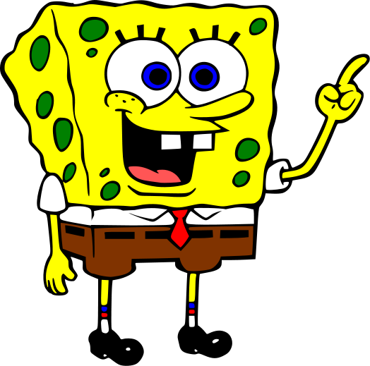 KIDS -> Cartoon Character -> Sponge Bob Square Pants