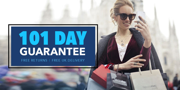 Britwear 101 Day Guarantee Banner