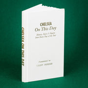 Personalised Chelsea Football Club FC On This Day Book
