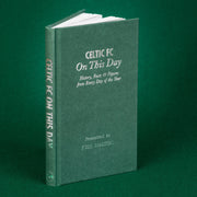 Personalised Celtic Football Club FC On This Day Book