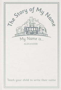 Children Personalised The Story of My Name Embossed Classic Hardback