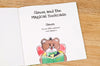 Children Personalised The Magical Bookcase Hardback Book
