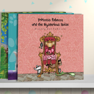 Children Personalised The Princess and the Mysterious Noise Hardback Book