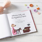 Children Personalised The Princess and the Mysterious Noise Softback Book