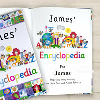 Children Softback My Personalised Encyclopedia Book