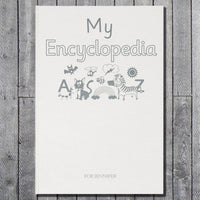 Children My Personalised Encyclopedia Embossed  Classic Hardcover Book