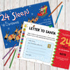 Children Personalised A3 24 Sleeps til Christmas Activity Book