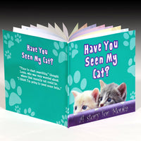 Children Personalised Have You Seen My Cat Hardback Book