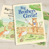 Children Personalised Big Brothers are Great Hardback Book