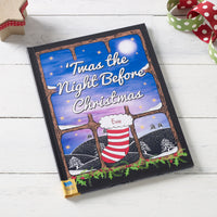 Children Personalised Twas the Night Before Christmas Softback Book