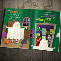 Children Personalised On Halloween Night Softback Book