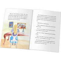 Children Personalised Princess and the Pea Hardback Book