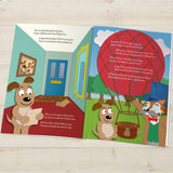 Children Softback Personalised Around the World Book