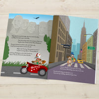 Children Hardback Personalised Around the World Book