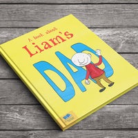 Children Personalised My Dad Book Softback Book
