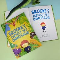 Children Personalised Pet Dinosaur Softback Book