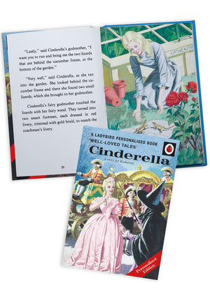 Children Cinderella A Ladybird Personalised Book