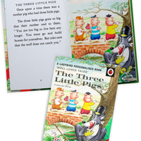 Children The Three Little Pigs A Ladybird Personalised Book