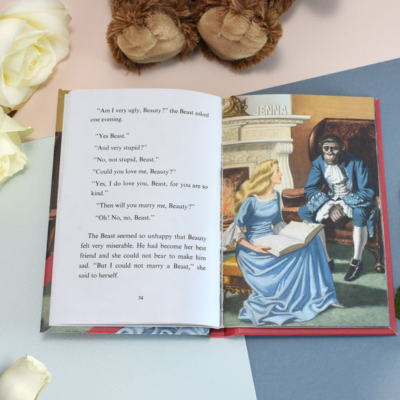 Children Beauty and the Beast: A Ladybird Personalised Book