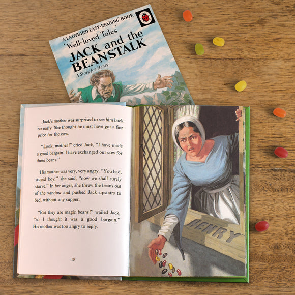 Children Jack and the Beanstalk: A Ladybird Personalised Book