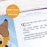 Children Personalised Disney Timeless Bambi Book