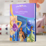Children Personalised Disney Princesses Tales of Friendship Hardback Book