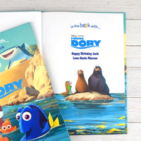 Children Personalised Disney Finding Dory Softback Book
