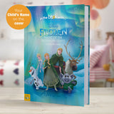 Children Personalised Disney Frozen Northern Lights Softback Book