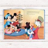 Children Personalised Disney Mickey Christmas Carol Softback Book