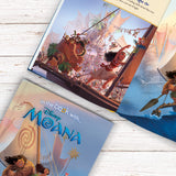 Children Personalised Disney Moana Hardback Book