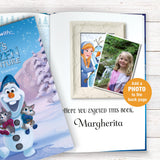 Children Personalised Disney Olafs Frozen Adventure Hardback Book