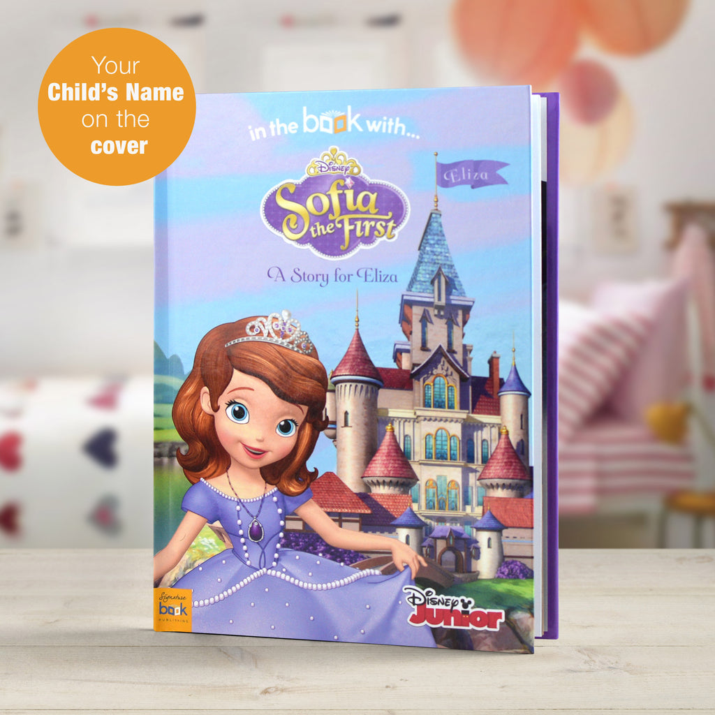 Children Personalised Disney Sofia the First Softback Book