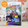 Children Personalised Disney Mickey and the Roadster Racers Softback Book