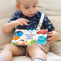 Baby Personalised Disney What Makes Me Great Board Book