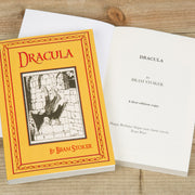 Personalised Dracula Hardback Book