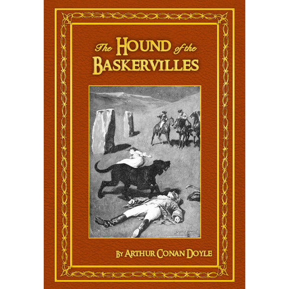 Personalised The Hound of the Baskervilles Hardback Book