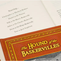 Personalised The Hound of the Baskervilles Softback Book