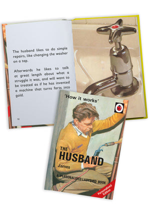 The Husband A Ladybird Personalised Book