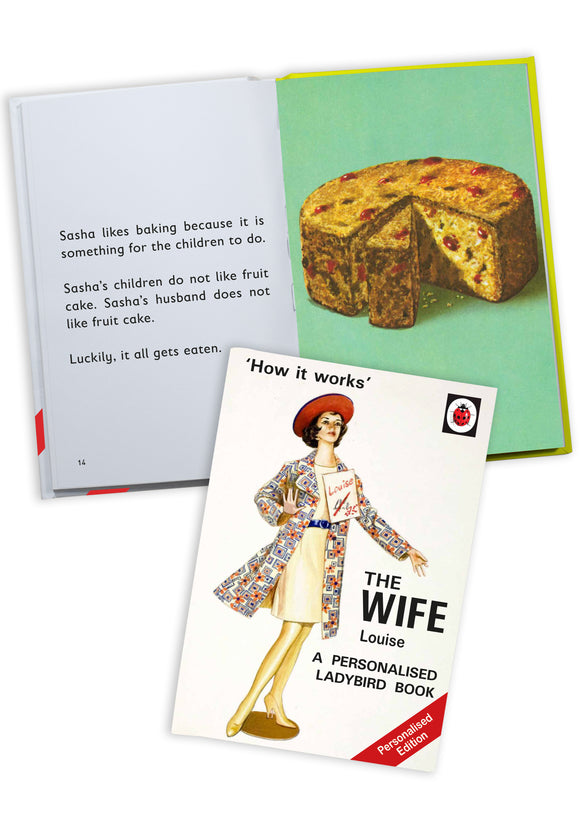 The Wife A Ladybird Personalised Book