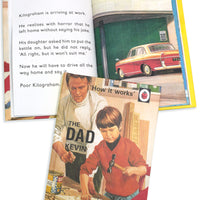 Dad A Ladybird Personalised Book