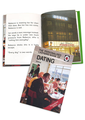 Dating A Ladybird Personalised Book
